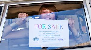 auto for sale sign how to safely sell your car state farm