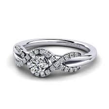 Buy Swarovski <b>Crystal</b> - Engagement Rings | GLAMIRA.co.uk