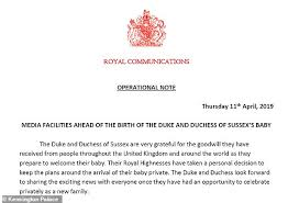 Online Birth Plan Creator Meghan Markle Wants To Have A Water Birth In A Royal First