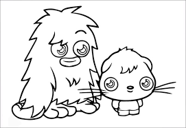 Small Picture Moshi Monsters Coloring Pages Free Coloring Pages Free