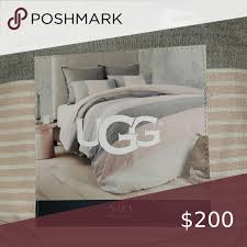 ugg king duvet with 2 matching shams in