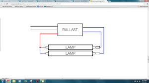 what is the ballast wiring set up when converting from a t full size image