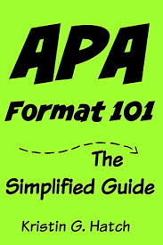 Font For Apa Format 6th Edition Apa Format 101 The Simplified Guide To Apa Citation For Beginners Apa Format 6th Edition