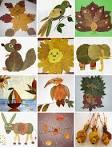 Поделки из листиков своими руками для детского сада
