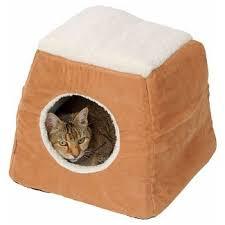 faux fur cat bed Tar