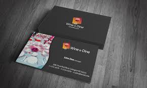 Restaurant Business Card Template Free Download Catering Business