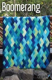 Machine Quilting Diamond Blocks YouTube video – Tagged ... & Boomerang Quilt Pattern by Julie Herman Adamdwight.com