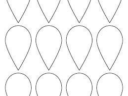 Paper Flower Petal Template Paper To Petal Templates Printable Website Template Printable Flower