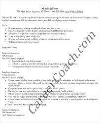 Medical Administrative Assistant Resume Sample Entry Level
