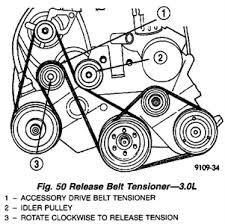 serpentine belt 2 4 voyager questions answers pictures netvan 103 png