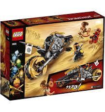 LEGO Ninjago 70672 Cole's Crossmotor - Supra Bazar