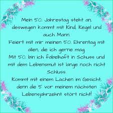 Lustige Sprüche Frau Zum 50 Geburtstag Geburtstagswünsche Für