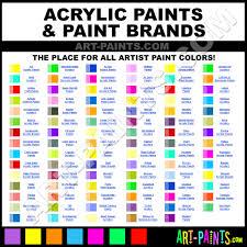 Folk Art Paint Chart Plaid Folk Art Acrylic Paint Color Chart Www