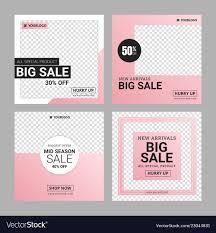 Instagram Banner Design Editable Instagram Fashion Banner Ad Template