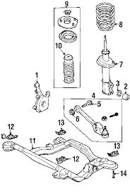 com acirc reg saturn front suspension suspension mounting engine 1997 saturn sl2 base l4 1 9 liter gas suspension components