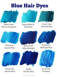 Manic Panic Blue Color Chart 28 Albums Of Midnight Blue Dark Blue Hair Men Explore