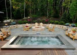 in ground jacuzzi. In Ground Jacuzzi Hot Tubs Outdoor
