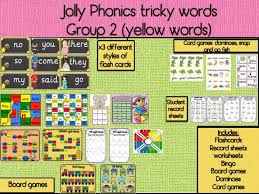 There are a number of ways to learn tricky words: Jolly Phonics Tricky Words Sight Words Bundle Mash Ie