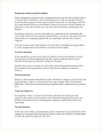 Business Proposal Template Gorgeous Business Plan Restaurant Rapidealso Withbusiness For Small Fast