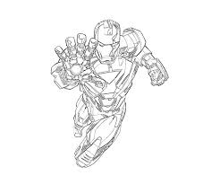 Small Picture Iron Man Pose DrawingManPrintable Coloring Pages Free Download