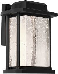 artcraft ac9122bk addison led outdoor wall sconce lighting art with regard to sconces designs 4