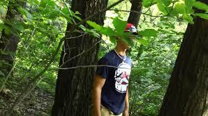 Teen shitting in the wood