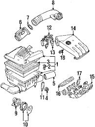 parts com® volkswagen cabrio engine parts oem parts diagrams 1995 volkswagen cabrio base l4 2 0 liter gas engine parts