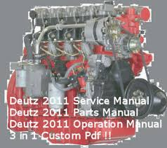 deutz 2011 engine service workshop parts operation manuals custom image is loading deutz 2011 engine service workshop parts operation manuals