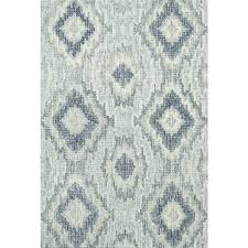 ikat rug home transitional hand hooked grey blue wool area 7 8x10 ikat rug design rugs uk