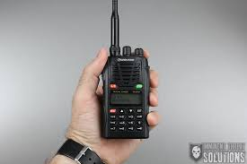 its tactical handheld radio