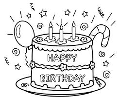birthday color page happy birthday coloring pages free printable happy birthday coloring pages for daddy