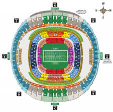 New Orleans Mercedes Benz Superdome Seating Chart The Most Stylish Superdome Seating Chart Seating Chart