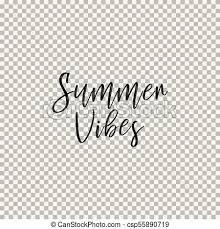 夏 Vibes 背景 透明