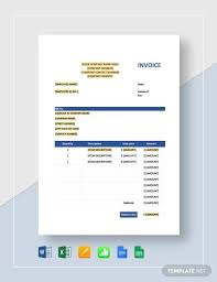 Sales Invoice Sample Sales Invoice 12 Examples In Word Pdf