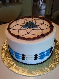 Dream Catcher Baby Shower Cake Cake by Melanie Occasional Cake Gallery 75