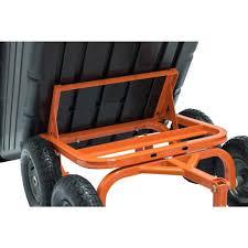 agri fab 4 wheel poly garden cart 45