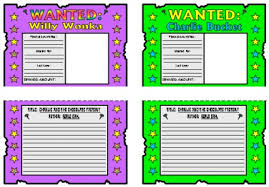 charlie and the chocolate factory lesson plans author roald dahl charlie and the chocolate factory willy wonka and charlie bucket wanted posters