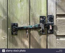 old door latch gloucestershire england