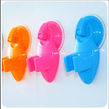removable wall mounted shower head sucker supporter,Bathing Sprayers Shower  rose holder brack for children