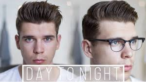 Transition Hair Style day to night transition hairstyle tutorial 2 mens trendy 1578 by stevesalt.us