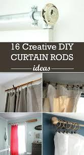 diy curtain creative curtain rods ideas diy outdoor curtain weights diy curtain