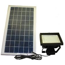 great solar flood light with on off switch 36 home depot