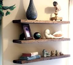 How To Make Solid Wood Floating Shelves Delectable How To Make Reclaimed Wood Floating Shelves Morespoons Ea322cf32a32d3225