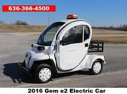 Electric car motor for sale 100 Hp 2015 Gem E2 For Sale In Moscow Mills Mo Golden Motor Gem For Sale Carsforsalecom