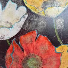 pier 1 imports enchanted flowers art pier 1 imports wall art