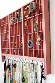 Jewellery Storage do it yourself - alternatives to jewelry box