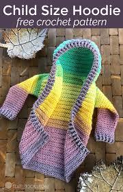 Free Crochet Patterns Simple Toddler Hoodie Free Crochet Pattern Size 4848T