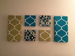 ... Colorful Fabric Canvas Wall Art Blue Yellow Black Theme Different Style  Wallpaper Popular Types Personalized Diy ...