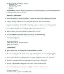 sample photography resumes 10 photographer resume templates pdf doc free premium templates