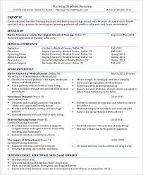 Sample Resume For Cna Sample Nursing Assistant Resume 8 Examples In Word Pdf